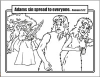Kidco Labs Resources S Coloring Sheets. Adam And Eve ...